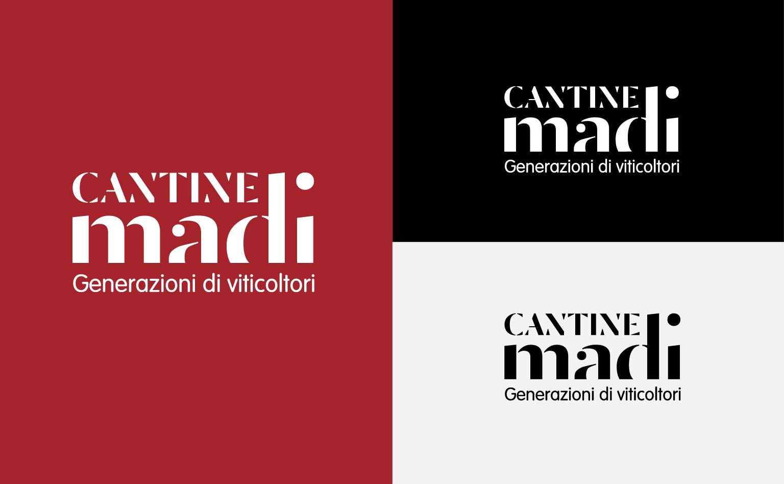 zicodesign, Cantine Madi logo